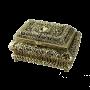 """Шкатулка металлическая под золото Bello De Bronze BP-00139 - """"Мир Сантехники"""" - Интернет Магазин   1"""