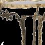 """Столик круглый с мраморной столешницей Bello De Bronze BP-50205-D - """"Мир Сантехники"""" - Интернет Магазин   3"""