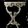 """Консоль интерьерная Бикош под золото Bello De Bronze BP-50003 - """"Мир Сантехники"""" - Интернет Магазин   1"""