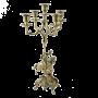 """Канделябр из бронзы Дон Луиш Кавалло Bello De Bronze BP-14068 - """"Мир Сантехники"""" - Интернет Магазин   1"""