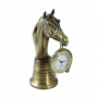 """Бронзовые часы настольные Каб Кавалло Bello De Bronze BP-28006-A - """"Мир Сантехники"""" - Интернет Магазин   1"""