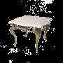 """Журнальный столик с мраморной столешницей Бикош Bello De Bronze BP-50202-D - """"Мир Сантехники"""" - Интернет Магазин   1"""