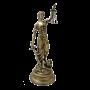 "Статуэтка Фемида Bello De Bronze BP-18029-A - ""Мир Сантехники"" - Интернет Магазин   1"