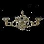 """Вешалка настенная 3 крючка Bello De Bronze BP-29053-D - """"Мир Сантехники"""" - Интернет Магазин   1"""