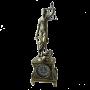 """Часы из бронзы настольные Джустиса Bello De Bronze BP-27053-A - """"Мир Сантехники"""" - Интернет Магазин   1"""