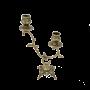 """Бронзовый канделябр Эскада Bello De Bronze BP-14091-D - """"Мир Сантехники"""" - Интернет Магазин   1"""